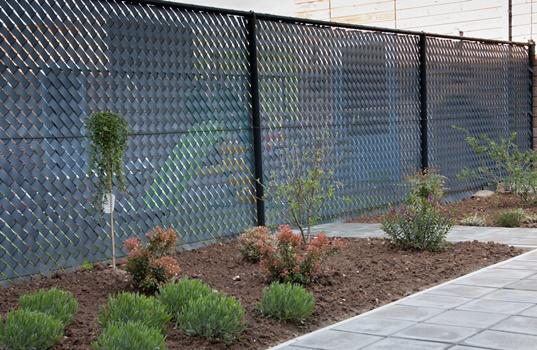 Fence Slats Ekoshield Home, Flexible Garden Fence Strips